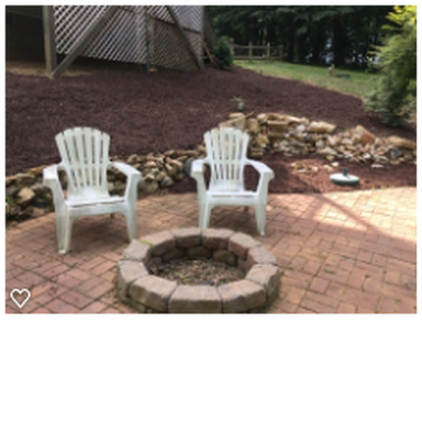 Raleigh Landscaping Firepit
